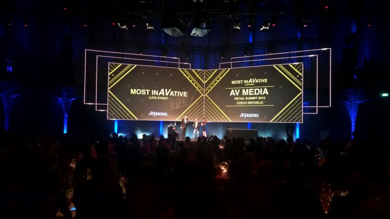 Ocenění InAVation Awards 2015 pro AV MEDIA