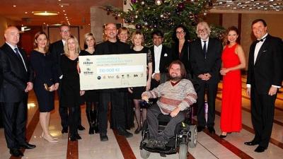 Charitativní vánoční koncert pražských hotelů Hilton