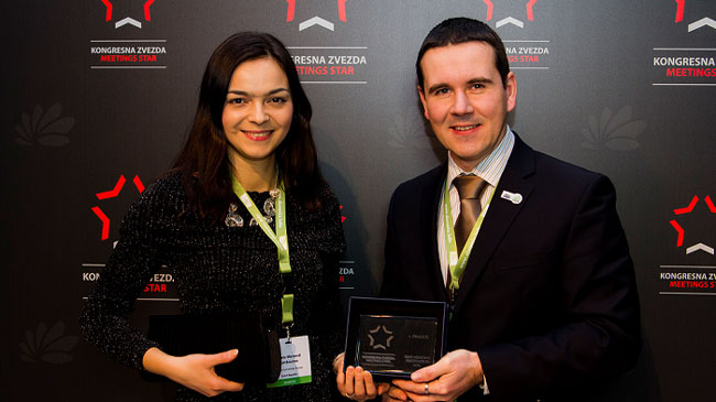 Praha opět získala prestižní ocenění Top Meeting Destination